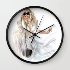 Mother Monster in  NYC Wall Clock
