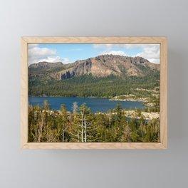 Silver Lake, Eldorado National Forest, California Framed Mini Art Print