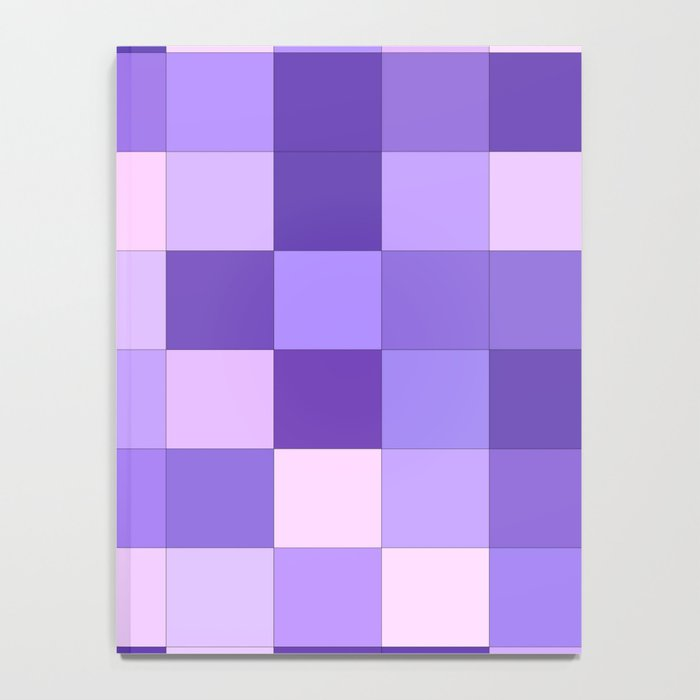 Pastel purple squares Notebook