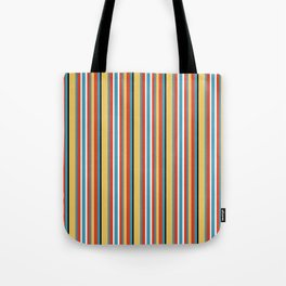 Wind Flower Stripe 3 Tote Bag