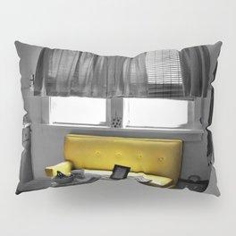 Kitchen Couch, Yellow Pillow Sham