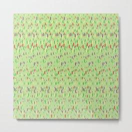 Spring Speckles Artwork Metal Print
