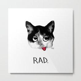 RAD. Metal Print