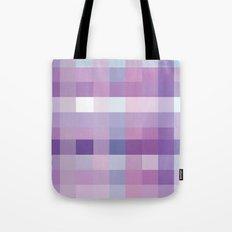 Pixelate Lavender Tote Bag