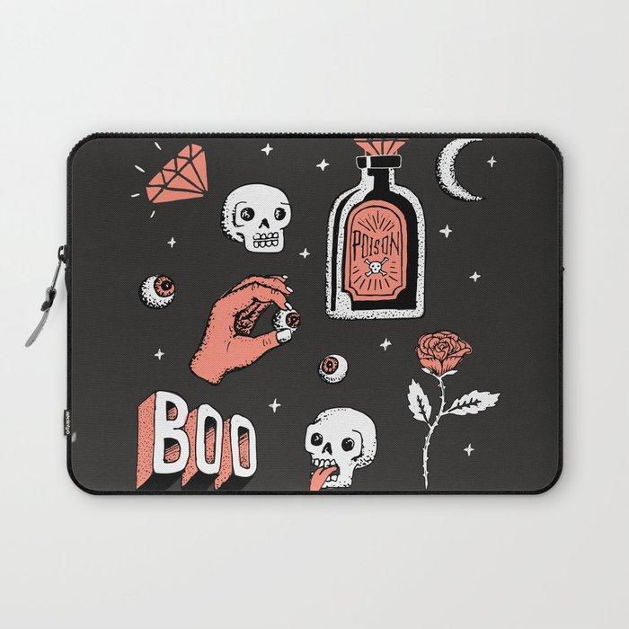 Skeleton Spooky Boye Laptop Sleeve