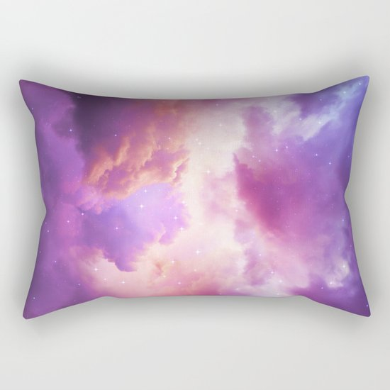 The Skies Are Painted Rectangular Pillow