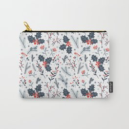 Winter flora Carry-All Pouch