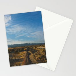 Los Angeles Aqueduct - Pacific Crest Trail, California Stationery Cards