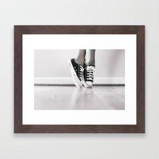 Faux Pointe Framed Art Print