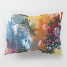 Calyces Fruits Abstract Pillow Sham