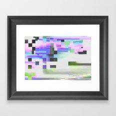 scrmbmosh30x4b Framed Art Print