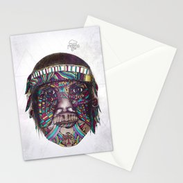 Amazon Tribal Indian Stationery Cards