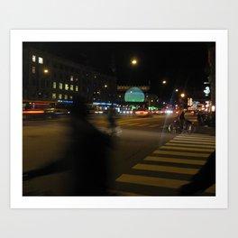 Copenhague Art Print
