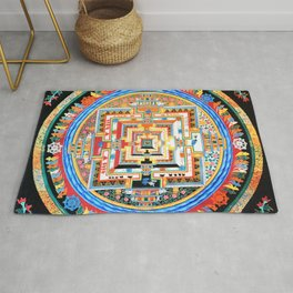 Mandala Buddhist 8 Rug