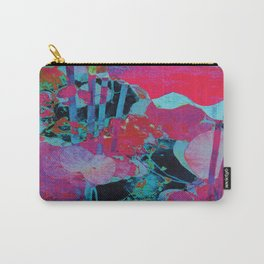 Flora Celeste Agate Lotus  Carry-All Pouch