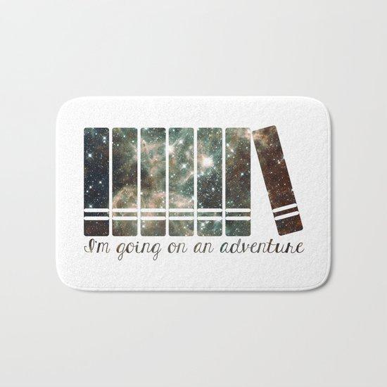 I'm Going on an Adventure - Galaxy II Bath Mat