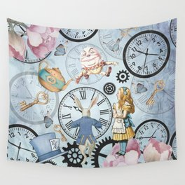 Wonderland Time Wall Tapestry