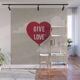 Give Love II Wall Mural
