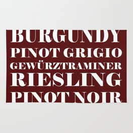 Wine Celebration Rug