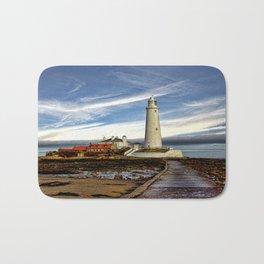 St. Mary's Lighthouse  Bath Mat