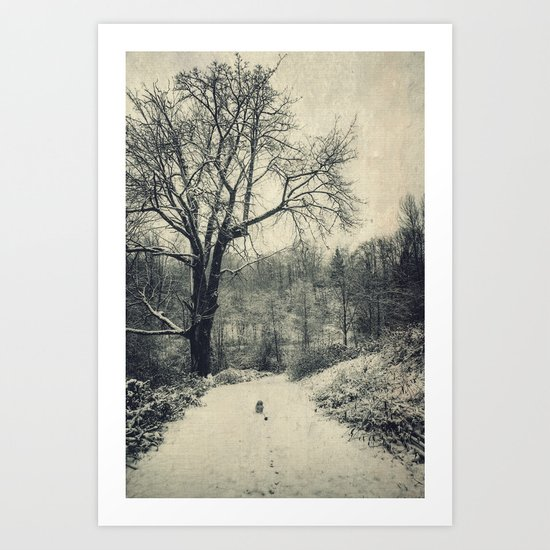 The Stroll Art Print