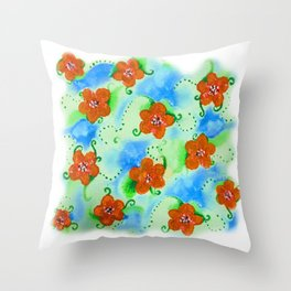 Flowers_103 Throw Pillow