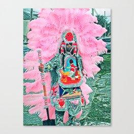 Big Chief Pretty Canvas Print