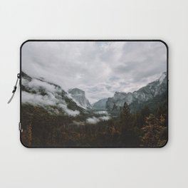 Moody Yosemite Tunnel View Laptop Sleeve