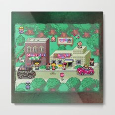 Earthbound town Metal Print
