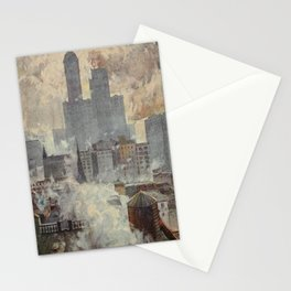 Lewis, Martin (1881-1962) - New York 1911 - Lower End of the City Stationery Cards