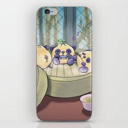 Panda Steam iPhone Skin