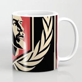Emblem Lenin Face & CCCP Black Coffee Mug