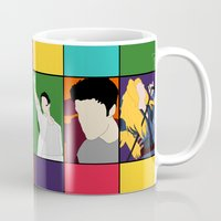 hedwig Mugs featuring From Harry To Hedwig by byebyesally