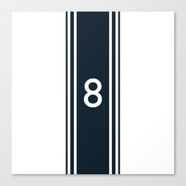 racing stripe .. #8 Canvas Print