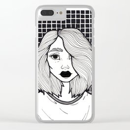 Just Another Angsty Teen Clear iPhone Case