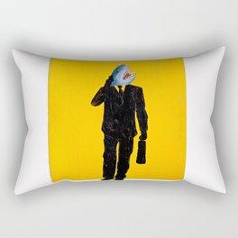 Shark Man Rectangular Pillow