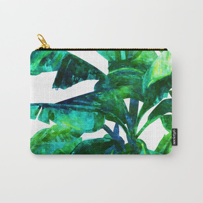 Banana Leaves #society6 #decor #buyart Carry-All Pouch