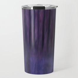 Painted Trees 2 Purples Travel Mug