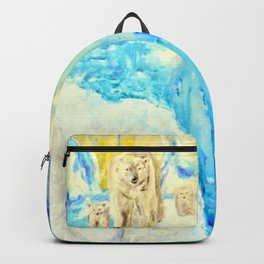 Polar Bears Trying to Survive Backpack