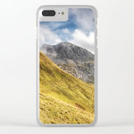 Mountain beauty Clear iPhone Case