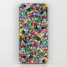 Rainbow Sprinkles - cupcake toppings galore iPhone Skin