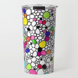 Circles and Other Shapes and colors Travel Mug