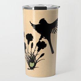 Ohio - State Papercut Print Travel Mug