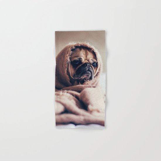 Cute Little Pug Hand & Bath Towel