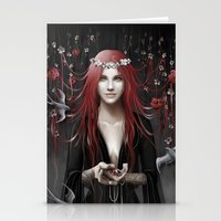 passion Stationery Cards featuring Passion by Nicolas Jamonneau