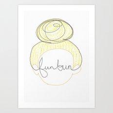 FUNBUN Art Print