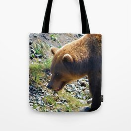 Griz - Wildlife Art Print Tote Bag