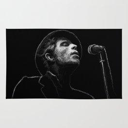Tom Waits (scribble style) Rug