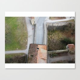 Birdseye View Canvas Print