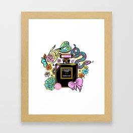Poison of Choice: Chloroform Perfume Framed Art Print